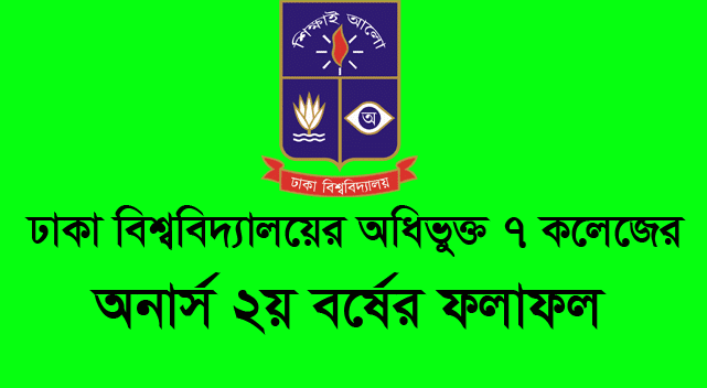 DU 7 College Honours 2nd Year Result 2020-21