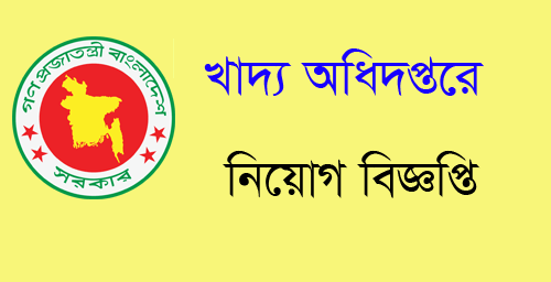 Ministry of Food Job Circular 2018,Food Job Circular 2019