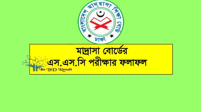 SSC Dakhil Result 2020