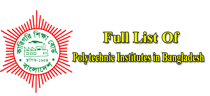 Polytechnic Institutes In Bangladesh