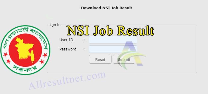NSI Result 2019