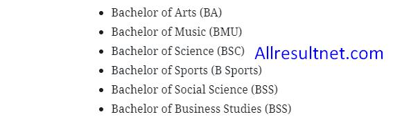 NU Degree Admission 2019