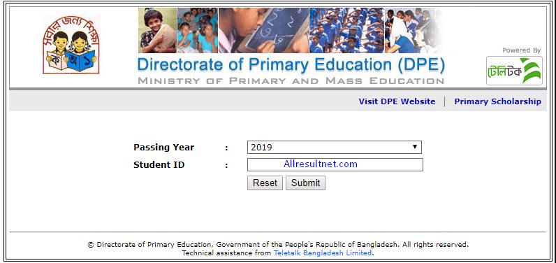 PSC Result 2021 Comilla Board