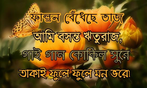 Pohela Falgun Wishes