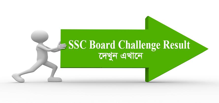 SSC Board Challenge Result 2020-21