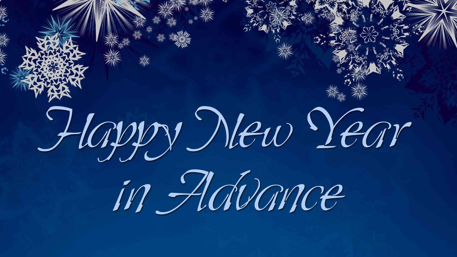 Advance Happy New Year Photos