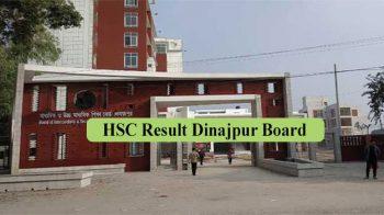HSC Result 2021 Dinajpur Board
