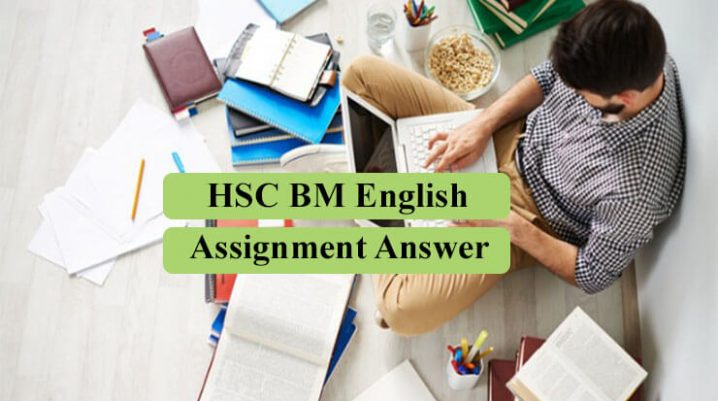 HSC BM English Assignment Answer 2021