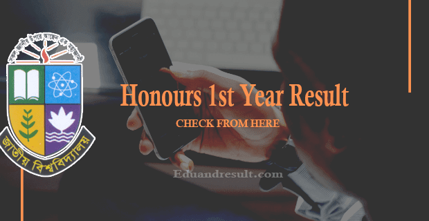 Honours 1st Year Result 2021