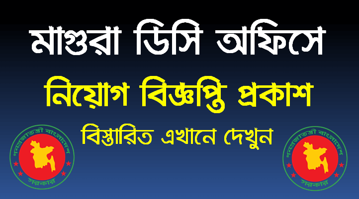 Magura DC Office Job Circular 2021