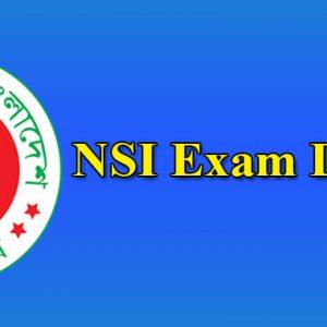 NSI Exam Date 2021