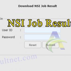 NSI Result 2021