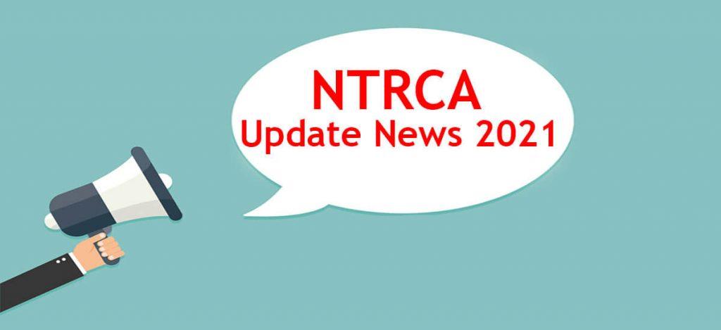 NTRCA Update News 2021