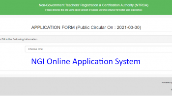 NGI Online Application 2021