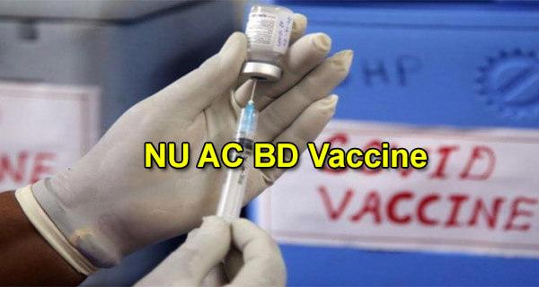 NU AC BD Vaccine
