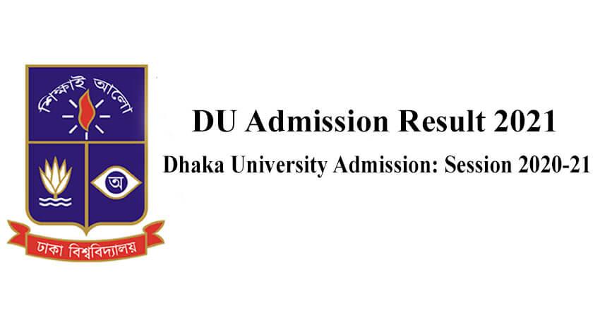 DU Admission Result 2021